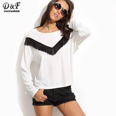 Gy Long Sleeve Faux Silk Chiffon Ruffle Embroidered Tunic Blouse Shirt Top S M L