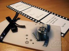 Convites bilhete de cinema : fóruns | O Nosso Casamento