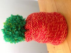 A carrot hat. How To Look Pretty, Carrot, Fancy, Hats, How To Make, Decor, Fashion, Moda, Carrots