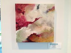 In Flight, acrylic mixed media on panel. I just love abstraction