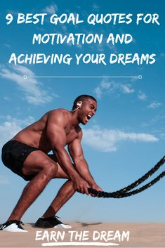 Learn more about the best goal quotes for motivation for achieving your dreams. With these goal quotes, you will be sure to live the dream. Goals Quotes Motivational, Goal Quotes, Inspirational Quotes, Living The Dream Quotes, Positive Thoughts Quotes, Seasons Of Life, Motivation Goals, Take The First Step, Life Goals