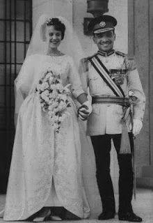 King Hussein of Jordan and Antoinette Gardiner