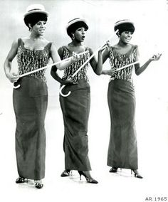 Florence Ballard, Mary Wilson and Diana Ross