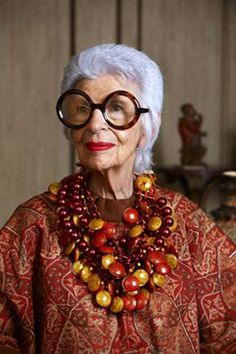 Iris Apfel for YOOX