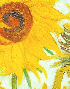 Twelve Sunflowers (Detail) Van Gogh Puzzle: Executed in Arles, this painting shows a bouquet of sunflowers in a vase. Since no retrospective van Gogh Vase With Twelve Sunflowers, Van Gogh Sunflowers, Vincent Van Gogh, Artist Van Gogh, Van Gogh Art, Art Van, Van Gogh Pinturas, Art Pastel, Van Gogh Paintings