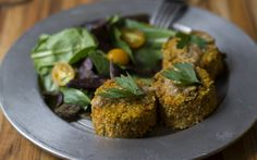 <p>In this recipe, fresh herbs, ginger, sun-dried tomatoes, and more provide the perfect balance of flavor to the millet croquettes. </p>
