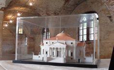 Andrea Palladio LA ROTONDA architectural scale model 1:200