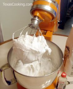 Perfect Meringue: Crowning glory for pies; recipe from Grandma's Cookbook of kitchen-tested recipes.