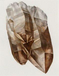 crystal watercolor - Google Search