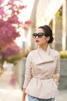 Жакет с необычной застежкой / Вещь / Модный сайт о стильной переделке одежды и интерьера
