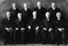 1925 United States Supreme Court. William Howard Taft is the only American President to become Chief Justice of the Supreme Court. Sitting here, bottom row center.