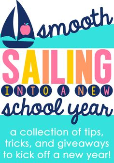 Minds in Bloom: Smooth Sailing: Back to School Giveaway and Classr...