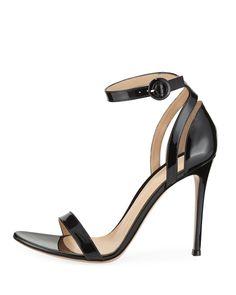 Gianvito Rossi 105mm Patent d Orsay Sandals Chaussures De Design À Talons,  Collections D 195b9e34184