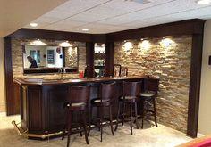 basement bars plans   Stone Basement Bars http://creativefan.com/basement-bar-ideas/
