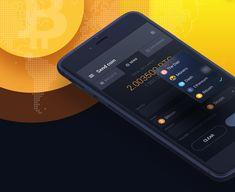 """다음 @Behance 프로젝트 확인: """"Crypto change mobile app"""" https://www.behance.net/gallery/51703203/Crypto-change-mobile-app"""