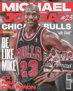 "Kevin Aquino | Graphic Design on Instagram: ""Good ol' Magazine. Back when you buy one just for the posters and stickers inside @jumpman23 #mjmondays 🐐 • • • • #nba #nbaart #sports…"" Michael Jordan Unc, Michael Jordan Photos, Michael Jordan Chicago Bulls, Nba Champions, Nfl Sports, Good Ol, Air Jordan, Jordan 23, Magazine"