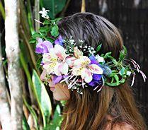 Beautiful Wedding Crowns From Byron Bay Wedding Flowers