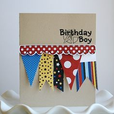 Cute boy card