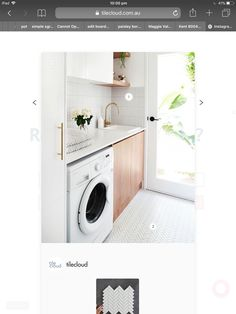 Washing Machine, Laundry, Home Appliances, Ideas, Laundry Room, House Appliances, Appliances, Thoughts, Laundry Rooms