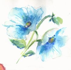Watercolor Projects, Watercolor Images, Watercolor Sketch, Watercolor Flowers, Watercolor Paintings, Watercolours, Watercolor Ideas, Sumi E Painting, Alcohol Ink Painting