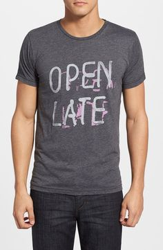 'Open Late' Graphic T-Shirt