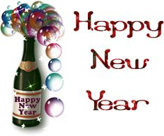 Graphical Image Of Happy New Year