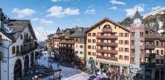 Le Village 1950, Les Arcs 1950 ski resort, France - http://www.movemountainstravel.com/offer/le-village/