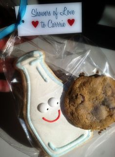 Milk and Cookie Baby Shower Favors, by SweetDaniB