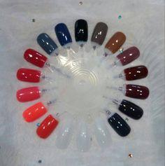15 Beautiful GelMoment Gel Polish colors! #GelMoment #gelnails #gelpolish #manicure www.DIYGelPolish.com