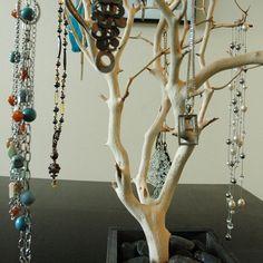 24 Natural Jewelry Tree / Jewelry Organizer by heartnotincluded, $80.00