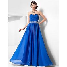 vestido de novia de una línea de palabra de longitud gasa noche / fiesta de graduación (493661) – EUR € 89.99