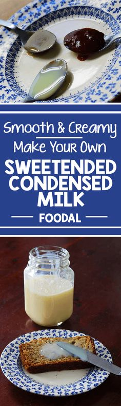 Smooth, creamy, and utterly sublime - sweetened condensed milk is a treat savored round the world. Whether mixed into iced coffee or hot tea, slathered on toast, or folded into semifreddo, the deep, sweet flavor shines through. Learn how to make your own with just two simple ingredients, and a little bit of time. http://foodal.com/recipes/desserts/sweetened-condensed-milk/