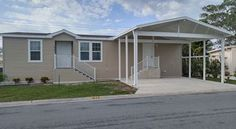 New Palm Harbor Ventura Mobile Home For Sale in Fair Lane Acres in Bredenton, Florida - a 55+ Community!  We are pet friendly. No high rents. You own your own land. Give us a call to find out more - 941-755-8616 or emaildeb@powerhouseexecutives.com. We are located at 817 50th Ave West, Bradenton, FL 34207. Come by and see our Palm Harbor manufactured homes!