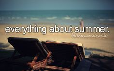 everything about summer