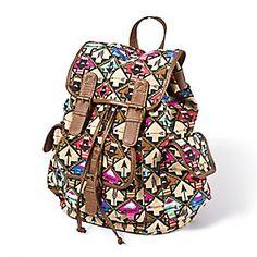 Arrow Print Backpack