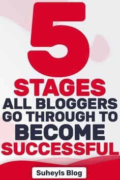 The five phases of online blogging success will help you analyze where you are at on your path to monetize your blog and manage your expectations. #bloggingtips #bloggingforbeginners #startablog #suheylsblog Make Money Blogging, Blogging Ideas, Earn Money, Thing 1, Blog Topics, Blog Planner, Creating A Blog, Blogging For Beginners, Business Tips