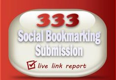 Your website will be submitted to my personal collection of 300 social bookmarking sites for link building. This is a good way for your advertising campaign.  BONUS: