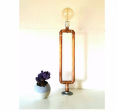 Hey, I found this really awesome Etsy listing at https://www.etsy.com/listing/385639712/industrial-pipe-lamp-copper-table-lamp