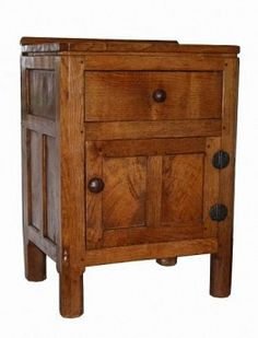 Robert Mouseman Thompson early and rare Adzed Oak Small Hall/Bedside Cupboard SOLD Copyright © 2018 Ingnet Ltd Small Cupboard, Small Hall, Bedside, Icons, Artists, Furniture, Home Decor, Decoration Home, Room Decor