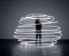 light capturing movement in its purest form. by olafur eliasson. Perhaps something that would light up like a light sculpture at night but represent something figurative during the day, something enveloping or something like an oak leaf