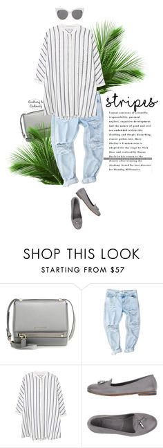 """Untitled #1551"" by contrary-to-ordinary ❤ liked on Polyvore featuring moda, Givenchy, MANGO, n.d.c., Blanc & Eclare e stripes"