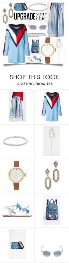 """""""Just dress better"""" by emmamegan-5678 ❤ liked on Polyvore featuring Hilfiger Collection, EF Collection, Rebecca Minkoff, Kate Spade, Native Gem, Aquazzura, Studio 33, Marc Jacobs, Saturnino and modern"""