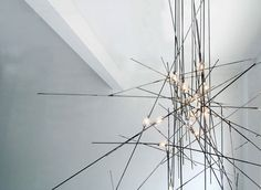 Light fixture from Commute Home, an interdisciplinary design studio located in Toronto.