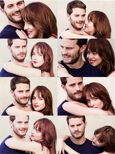 Jamie Dornan & Dakota Johnson for Who Magazine (Australia) real chemistry;)