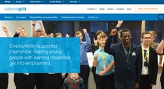 EmployAbility supported internships: helping young people with learning disabilities get into employment National Grid, Internship Program, Learning Disabilities, Young People, Disability, Great Britain, Career, Activities, Education