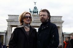 Frida and Björn in Berlin.