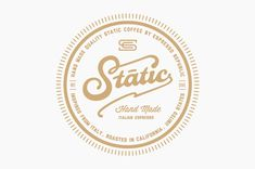 Static Coffee - The Dieline -