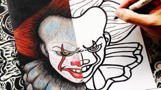 Como Dibujar A It Eso Paso A Paso Pennywise How To Draw It The Clo En 2020 Con Imagenes Dibujos Como Dibujar Cosas Como Dibujar