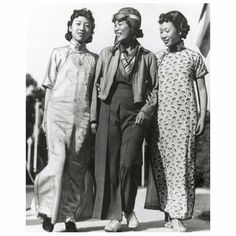 """""""I wanted to fly, so that's what I did."""" A great quote from Katherine Sui Fun Cheung, who was an Angeleno by way of Canton, China, and the first Chinese-American woman to receive a commercial flying license."""