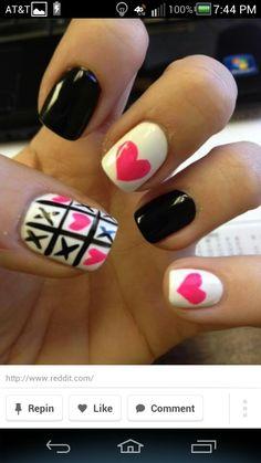 Image result for valentine nails